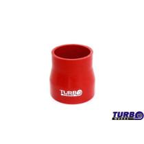 Szilikon szűkító TurboWorks Piros 63-76mm